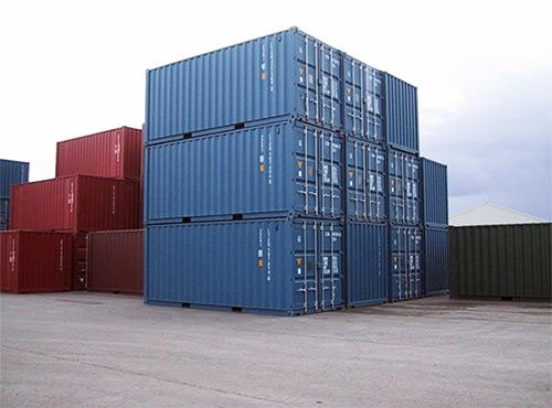 Containere, toiletter m.m.