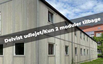 Modulbygning 622m² – moduler i 2 etager