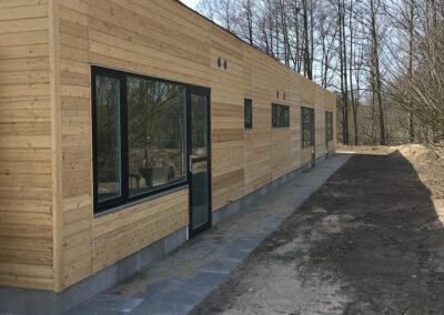 Institutioner & Bosteder: Tilbygning til kommunal daginstitution i permanent modulbyggeri