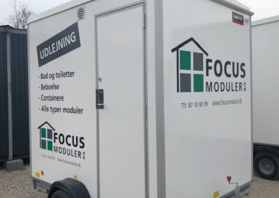FOCUS Moduler A/S: Toiletter - Containere - mm