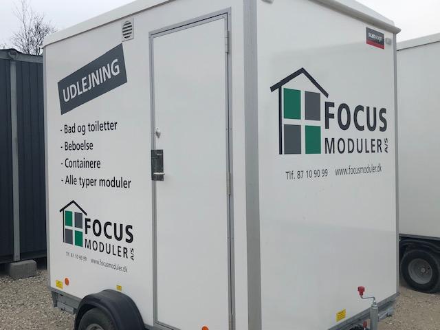 FOCUS Moduler A/S: Toiletter - Containere - mm