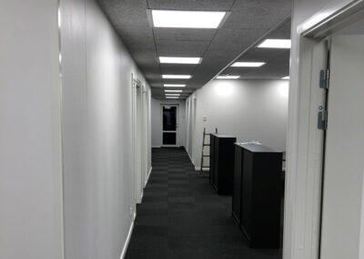 Kontorbyggeri i special-moduler som tilbygning