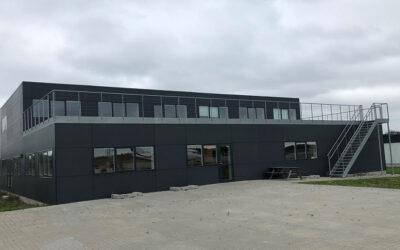 Undervisningslokaler og kontorer til lufthavn