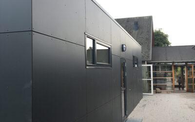 Modultilbygning til kommunal daginstitution