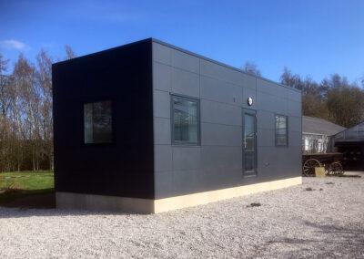Kontor & Administration: Udskiftning af skurvogn til topmoderne pavillon