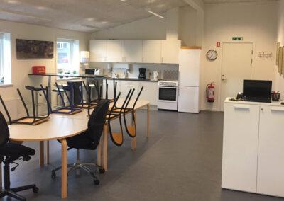Institutioner & Bosteder: Komplet SFO i pavilloner