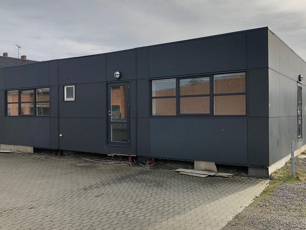 Brugt modulbygning 112m²