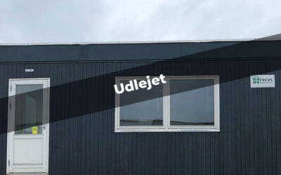 Brugt pavillon 21m² – velegnet til f.eks. kontor