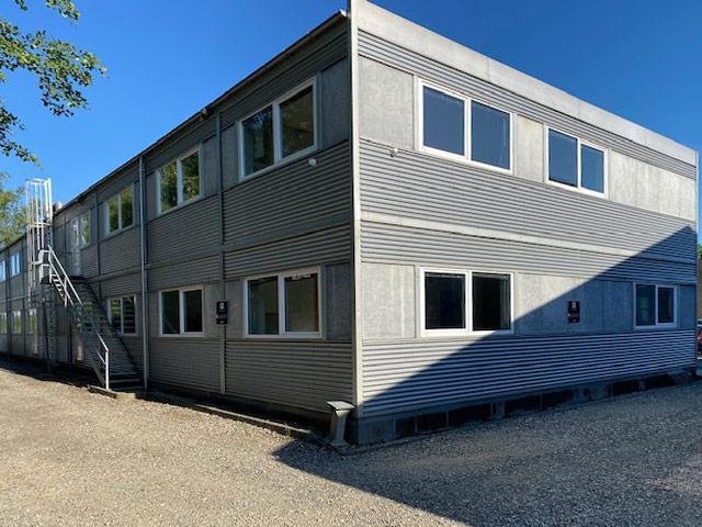 Brugt pavillonbygning 872m²