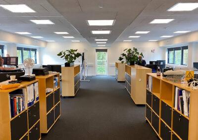 Moderne kontor og mødefaciliteter i modulbygning