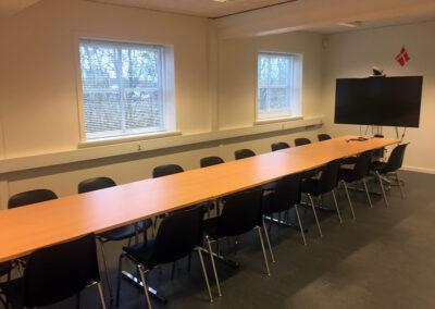 Kontorpavillon med enkeltpersoners kontorer