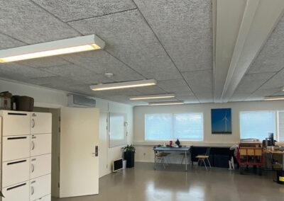 Kontor- og mødelokaler indrettet i moduler