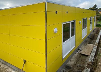 Beboelsesløsning til efterskole opført i modulbyggeri