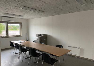 Modulbygning 90m² - 3 rum med godt lysindfald