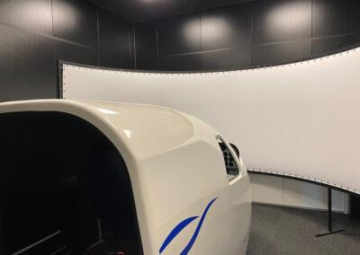 Modulbygning til flysimulator – 3,5m indvending lofthøjde