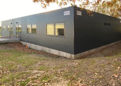 Klasselokaler i modulbyggeri