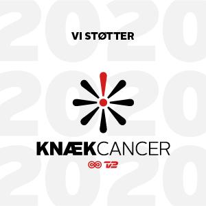 Vi støtter Knæk Cancer 2020
