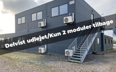 433m² modulbygning i 2 plan – mange anvendelser