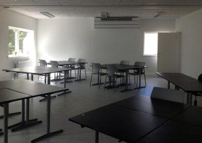Klasselokaler i pavilloner