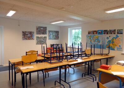 Undervisningslokaler med tagrejsning