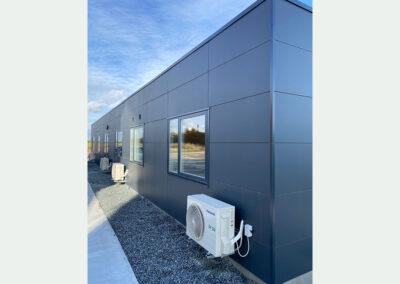FOCUS Moduler A/S: Kontor og mandskabs bygning til betonværk