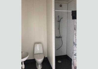 Modulbygning 38m² - værelse, bad & køkken