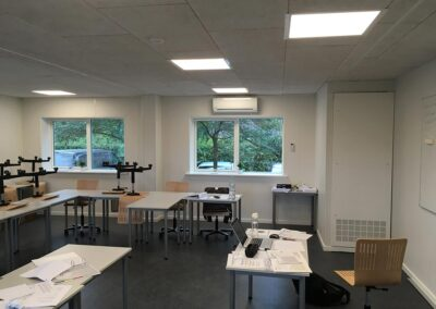 Undervisningsfaciliteter til produktionsskole