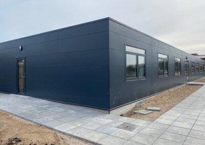 400m² værelsesbygning opført i modulbyggeri til høj- og efterskole